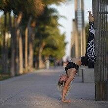 2020 fashion women's High Waist Yoga Pants Tummy Control Yoga Pant Digital printed hip high waist stretch yoga pants leggings
