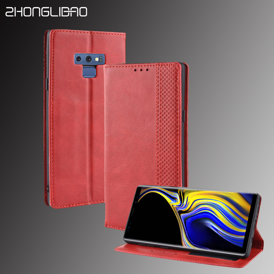 Luxury <font><b>Leather</b></font> Magnet <font><b>Flip</b></font> <font><b>Case</b></font> for <font><b>Samsung</b></font> Note 10 9 S10 5G Plus S10e A7 A9 2018 A20e <font><b>A50</b></font> A70 A40 <font><b>Wallet</b></font> Card <font><b>Stand</b></font> Book Cover image