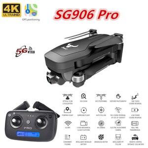 SG906/ SG906 Pro Drone 4K GPS quadrocoptera z 2-osi Anti-Shake Gimbal 5G kamera WIFI składany drony data data powrotu (25 minut VS błędy 7