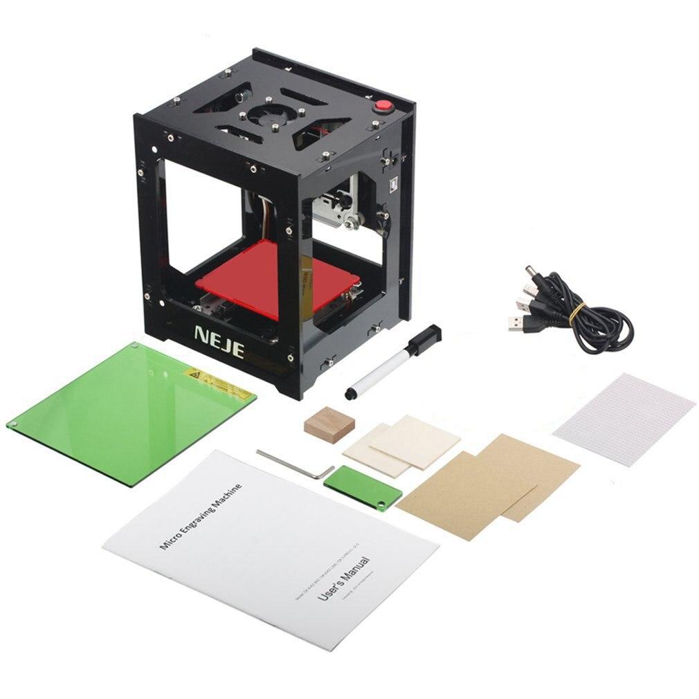 DK-8-KZ NEJE 1000mW/2000mW/3000mW Mini USB laserowa maszyna grawerująca automatyczna frezarka do drewna CNC grawer laserowy drukarka Cutter Cutti