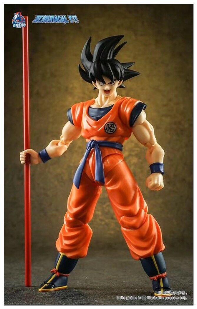 Demoniacal Fit –Custom Headsculpt /& Weapon Set for SHF Goku,In stock!
