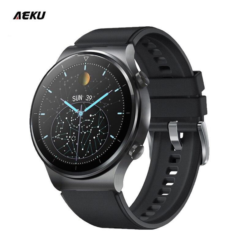 Aeku Gt2 Pro Смарт-часы для мужчин 2021 Android Huavei вызовов через Bluetooth Inteligente цифровой женские Honor фитнес Relogio Смарт-часы