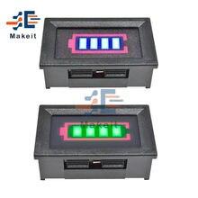 1S/2S/3S/4S/5S/6S/7S 12,6 в 18650 Li-po литий-ионный Батарея Ёмкость индикатор с оболочкой светодиодный Дисплей вольтметр Мощность тестер