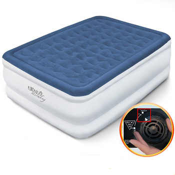 New inflatable bed air bed air mattress single household double thickening high double household high bed mat