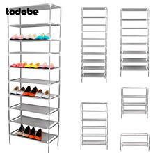 Cremalheira de sapato simples multicamadas fácil de instalar sapatos prateleira de armazenamento em casa dormitório dustproof tecido não tecido espaço saver sapato armário