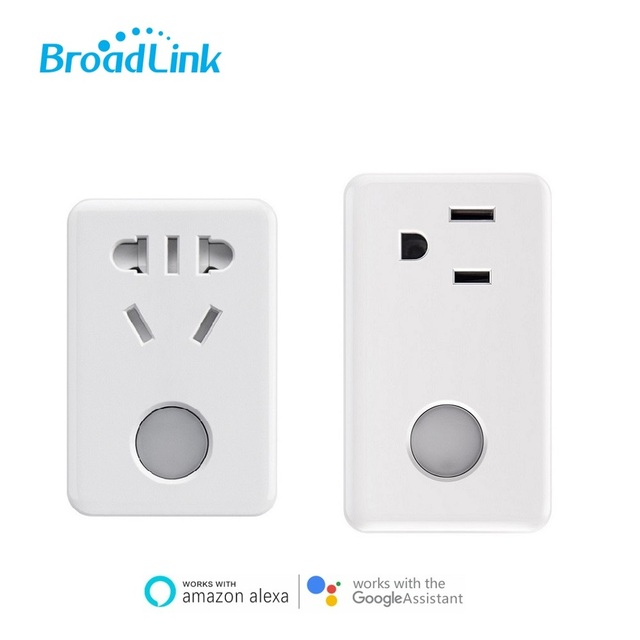 2020 Broadlink SP3 Timer Wifi Plug Outlet Power Socket,APPl & Voice Control by Alexa,Google Home,Domotica