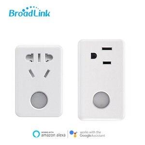 Image 1 - 2020 Broadlink SP3 zamanlayıcı Wifi fişi prizi priz, apple ve ses kontrolü Alexa,Google ev, Domotica