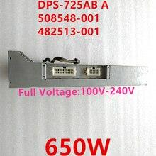 Nouveau PSU pour HP Z600 650W alimentation DPS 725AB A 508548 001 482513 001 482513 003