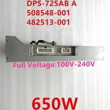 Nuovo ALIMENTATORE Per HP Z600 650W di Potenza di Alimentazione DPS 725AB A 508548 001 482513 001 482513 003