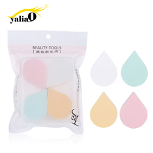 Get more info on the YALIAO 4pcs Water Drop Shape Cosmetics Puff Hydrophilic Sponge Powder Foundation Makeup Puff Random Color For Facial Beauty