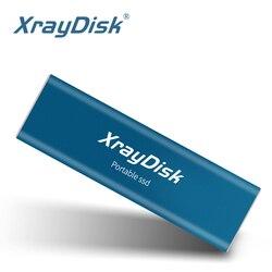 XrayDisk портативный SSD 256 Гб внешний SSD 512 ГБ Портативный SSD Внешний жесткий диск hdd для рабочего стола ноутбука с типом C USB3.1 Gen 2