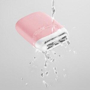 Image 4 - SMATE 3in1 ミニ電気シェーバーポータブル防水 USB 充電式脱毛バリカン清潔で快適