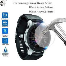Protetor de tela de vidro temperado para samsung galaxy assista ativo 2 40mm/44mm active2 película protetora da tela protetor de explosão