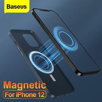 Магнитный кожаный чехол Baseus для iPhone 12 Pro 12 Pro Max Mini 1