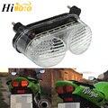 Задний светильник тормозной поворотники Интегрированный Светодиодный светильник для Kawasaki Ninja ZX6R 1998-2002 ZX9R 1998-2005 ZZR600 2005 2006 2007