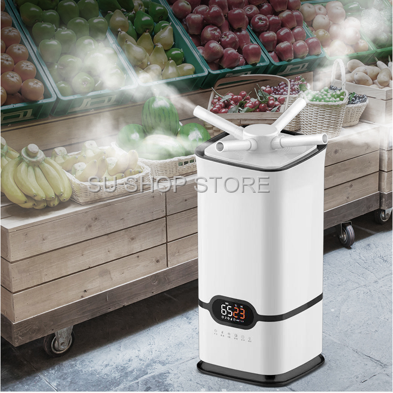 Commercial 16L/ 23.8L Electric Humidifier Industrial Supermarket Vegetable And Fruit Fresh-keeping High-power Spray Mist Maker