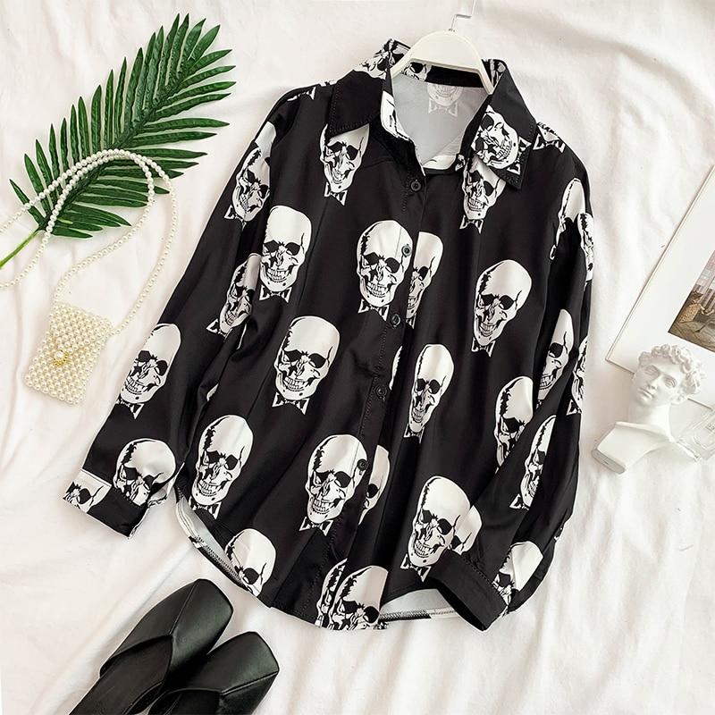 tops e blusas streetwear mujer