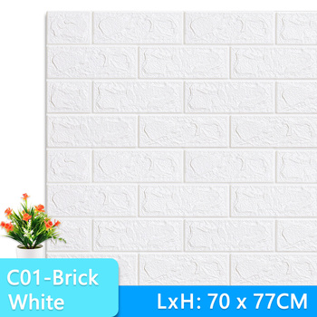 3D Wall Stickers Marble Brick Peel and Self-Adhesive Wall paper Waterproof DIY Kitchen Bathroom Home Wall Decal Sticker Vinyl 11