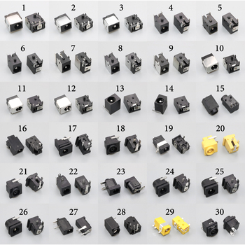 60models,120pcs DC Power Socket female Tablet PC Laptop DC Jack Connector For Samsung / Asus / Acer / HP / Dell / Sony / Lenovo chenghaoran 1 65mm 2 0mm 2 5mm laptop dc power jack connector for hp asus acer lenovo 1 7mm dc jack power socket notebook