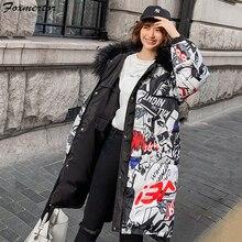 Новая зимняя куртка-Парка женская двухсторонняя Верхняя одежда Пальто Длинные повседневные легкие Ультра тонкие теплые пуховики