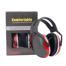 X3 Noise Earmuffs Hearing Noise Protection Over-the-Head Headset for Electronic Shooting Maintenance Construction Woodworking