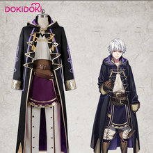 DokiDoki Game Fire Emblem Echoes: Shadows of Valentia Robin Cosplay Costume Men Halloween