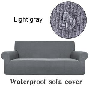 Image 2 - עמיד למים מוצק צבע הכל כלול למתוח ספה כיסוי בידוד של ילדים של שתן מגבת לחיות מחמד ספת כרית ספה להגן כיסוי