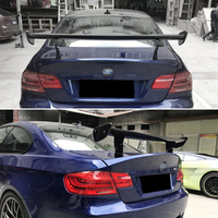 Use for BMW 3 Series E92 spoiler 2006 2013 year coupe 2 door real carbon fiber rear wing GTS style Sport Accessories body kit