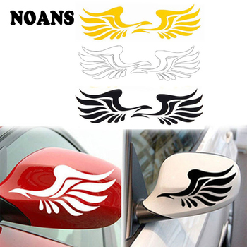 Rearview Mirror Wings Car Sticker for BMW E46 E90 E60 E39 E36 F30 F10 F20 X5 E53 E70 E30 M E87 G30 E34 E92 E91 X1 X3 Accessories image