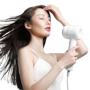 Image 2 - 新しいヘアドライヤー1400ワット110,000 rpmインテリジェント温度制御ヘアドライヤーマイナスイオンxiaomiyoupinから男性と女性の家
