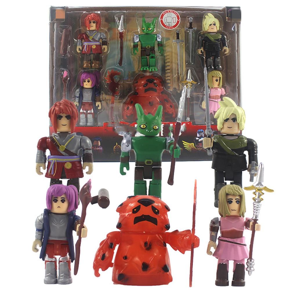 Фигурки героев Robloxing из коллекции «World Zero Six Game Pack», экшн-фигурки, подарок для детей