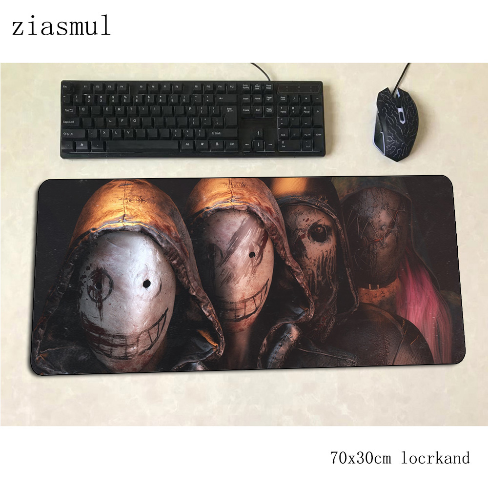 Dead By Daylight Mouse Pad Gamer Popular 70x30cm Gaming Mousepad Pc Notbook Desk Mat Cute Padmouse Games Home Gamer Mats Gamepad