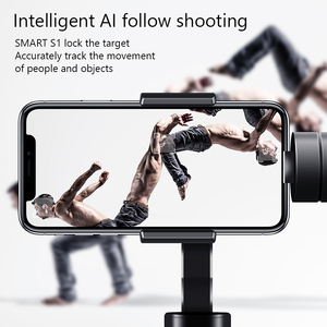 Image 2 - Eksprad 3 Axis Handheld Gimbal Stabilizer Focus Pull Zoom Following the Shooting Mode for iPhone 11 XR XS Samsung Action Camera