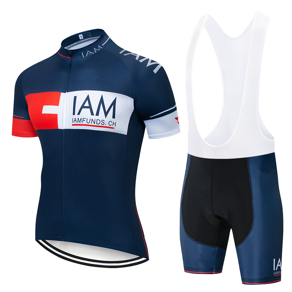 2020 IAM Cycling Clothing Bike jersey Quick Dry Mens Bicycle clothes mens summer team Cycling Jerseys gel bike shorts set|Cycling Sets| |  - title=