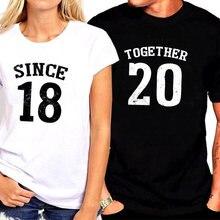 Ко Дню Святого Валентина 2021 вместе с тех пор как партий рубашек