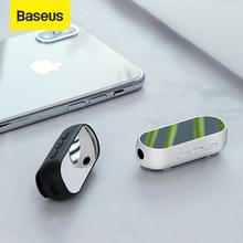 Baseus Bluetooth 5 0 odbiornik bezprzewodowy Bluetooth odbiornik Adapter dla zestaw słuchawkowy z głośnikiem muzyki 3 5mm odbiornik audio aux Adapter tanie tanio Wireless Adapter Audio Receiver Bluetooth Audio Receiver Baseus Wireless Adapter Baseus BA02 ABS+Aluminum alloy V5 0 3 5mm USB