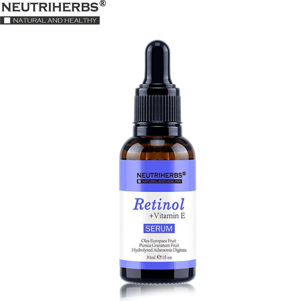 vitamíny proti akné - Neutriherbs Face Retinol Serum Vitamin E  2.5% Vitamins A Anti Acne Serum Anti Aging/Wrinkle Skin Lightening Serum Facial 30ml