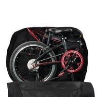 Dobrável Saco de Bicicleta Mountain Bike Sela Saco Da Bagagem À Prova D' Água Saco de Bicicleta Cestos e bolsas p/ bicicleta     -