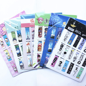 18pcs/set Cat Heart Magnetic Bookmark Luminous Cute Cartoon Animals Daily Magnet Book Mark Children Gift Bookmarks for books(China)