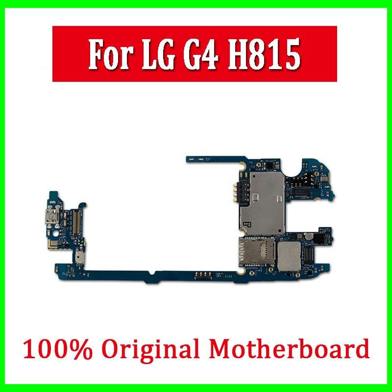 100 Original Debloque Pour Lg G4 H815 Carte Mere Avec Systeme