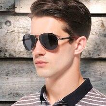KINGSEVEN Мужские Винтажные алюминиевые поляризованные солнцезащитные очки, классические брендовые солнцезащитные очки с покрытием, линзы для...