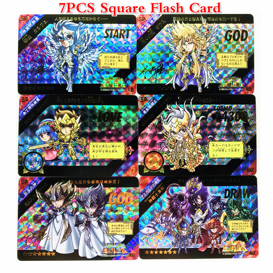 13pcs/set Saint Seiya Toys Hobbies Hobby Collectibles Game Collection Anime Cards