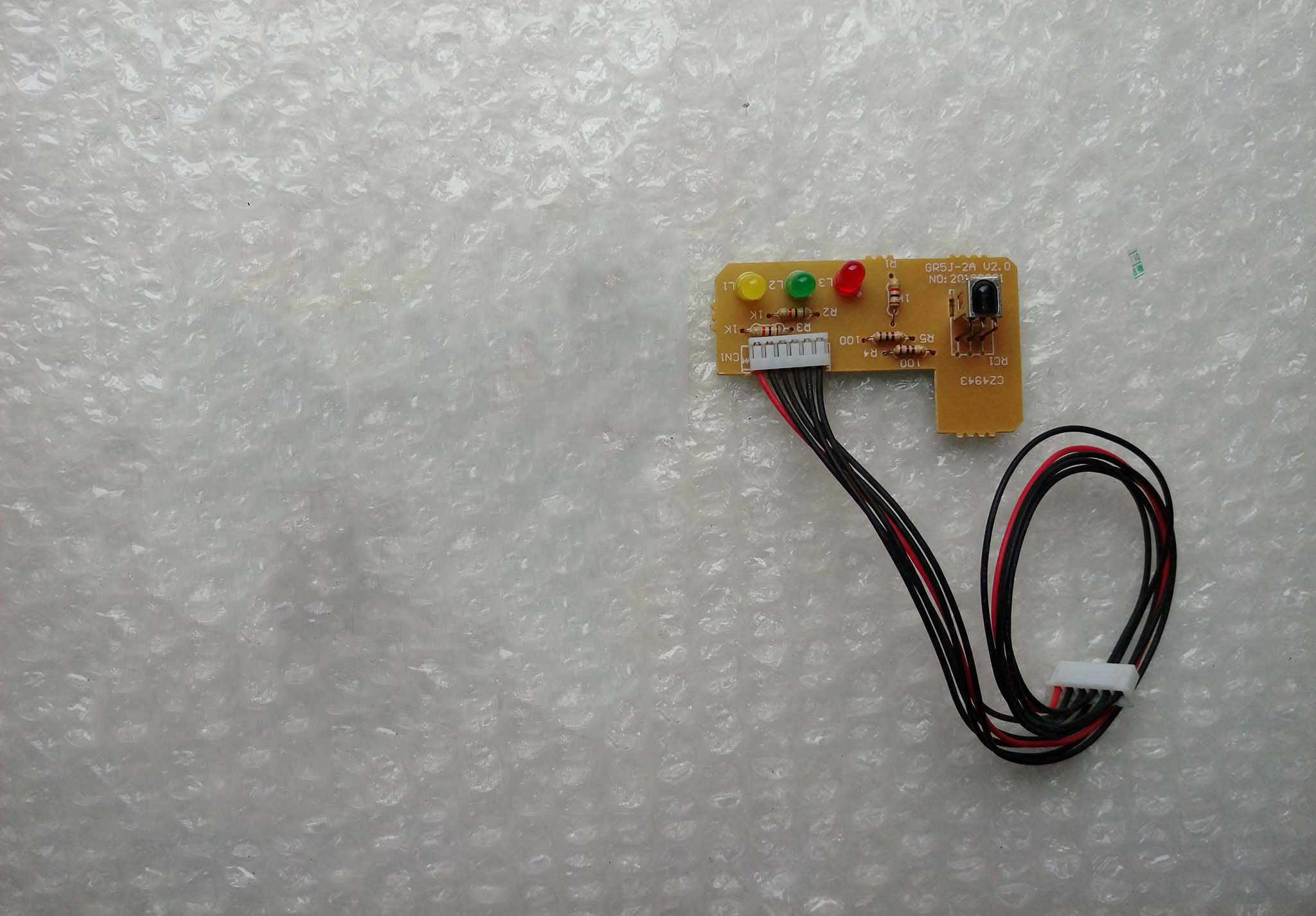 95% New Good Working For Air Conditioning Receiving Board GR5J-2A Control Panel Display Board