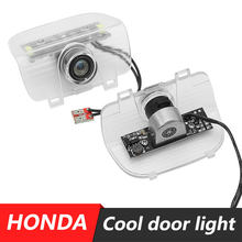 2x LED Car Welcome Door Light Laser Logo Projector Lamp FOR Honda accord 2013~2015 CR-Z Odyssey SPIRIOR RDX(China)