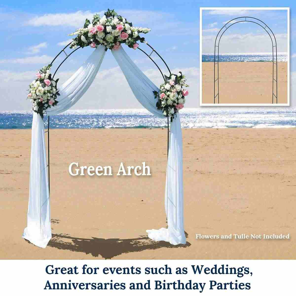DIY Iron Wedding Arch Decorative Garden Backdrop Pergola Stand Flower Frame For Marriage birthday wedding Party Decoration
