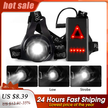 Chest-Lamp Runners Joggers Night-Running-Light Rechargeable Fishing Waterproof LED USB
