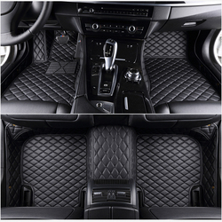 5 seat For ems  leather car floor mats fit 98% car model for Toyota Renault Kia Volkswage Honda BMW BENZ accessories foot mats
