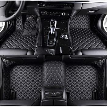 Flash mat leather car floor mats fit 98% car model for Toyota Lada Renault Kia Volkswage Honda BMW BENZ accessories foot mats