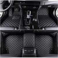 Flash mat tappetini auto in pelle fit 98% modello di auto per Toyota Lada Renault Kia Volkswage Honda BMW BENZ accessori piede stuoie