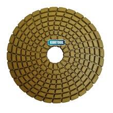 цена на Diamond Polishing Disc Granite Marble Polish Wet Use Concrete Sander Pad Diamond Tool Stone Grinding Buff Yellow Spiral Type